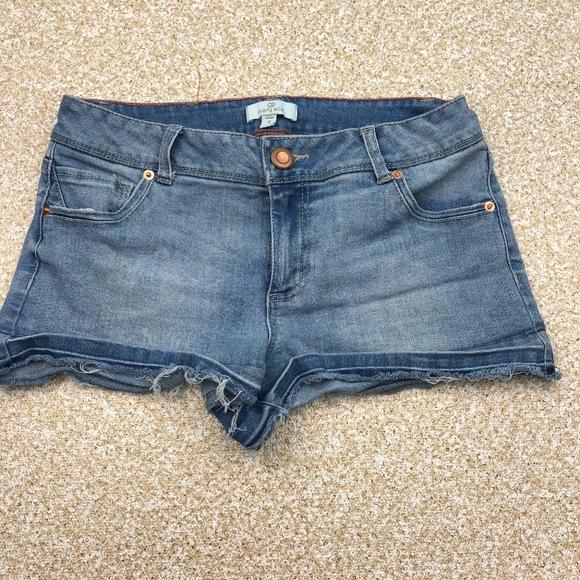 309a19932b98 ivory ella Pants - Ivory Ella Cut Off Jean Shorts Juniors 7 Low Rise
